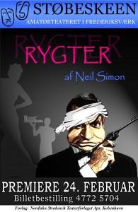 Plakat Rygter - billede